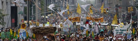 Vasudha Goes to Peoples' Climate March!